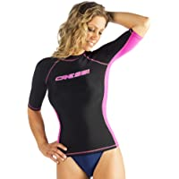 Cressi - Protector de Espalda para Mujer, para natación, Surf, Buceo Calidad Desde 1946