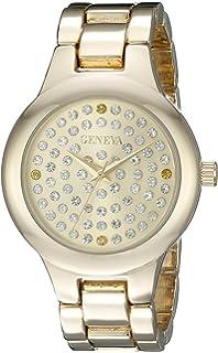 Geneva Womens FMDJM105A Analog Display Japanese Quartz Gold Watch