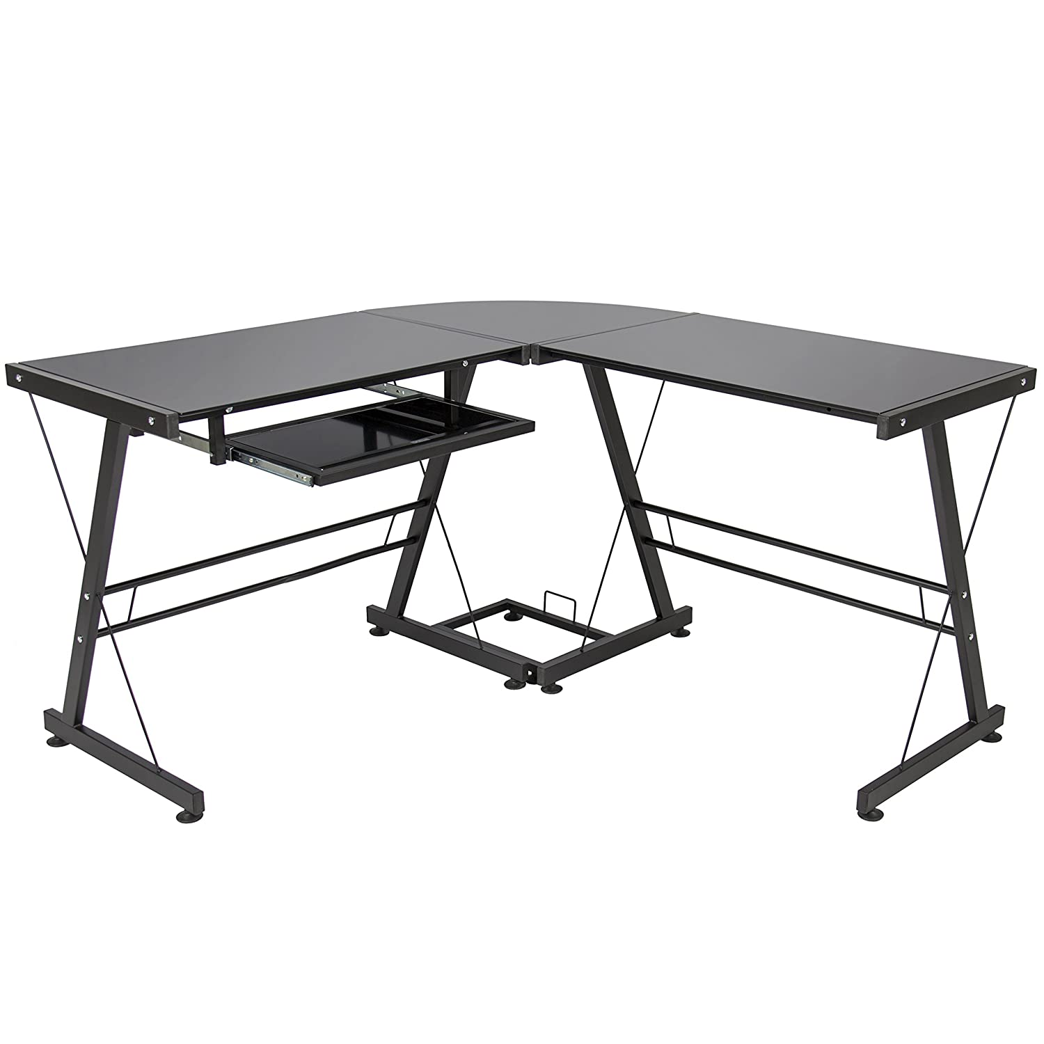 premium computer soreno glass shaped corner desk larger dp view walker com l edison amazon