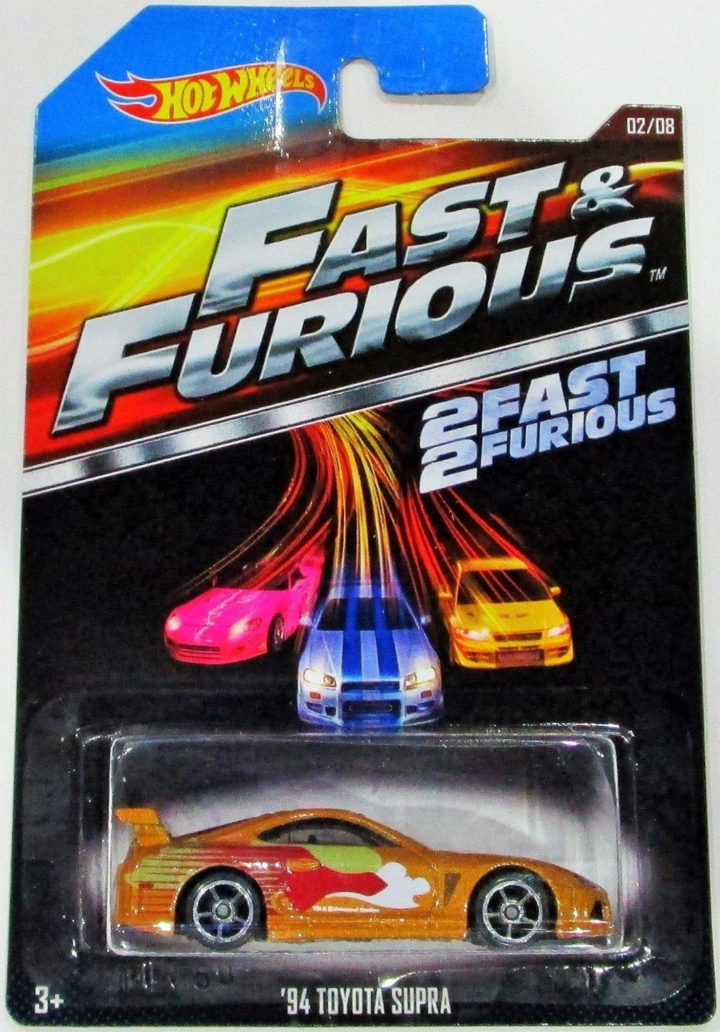 2015 Hot Wheels Fast  Furious 2/8 - '94 Toyota Supra (Gold) by Hot Wheels