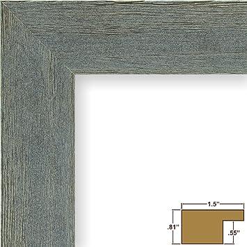 Amazon.com - Craig Frames Barnwood Chic, Rustic Hardwood Picture ...