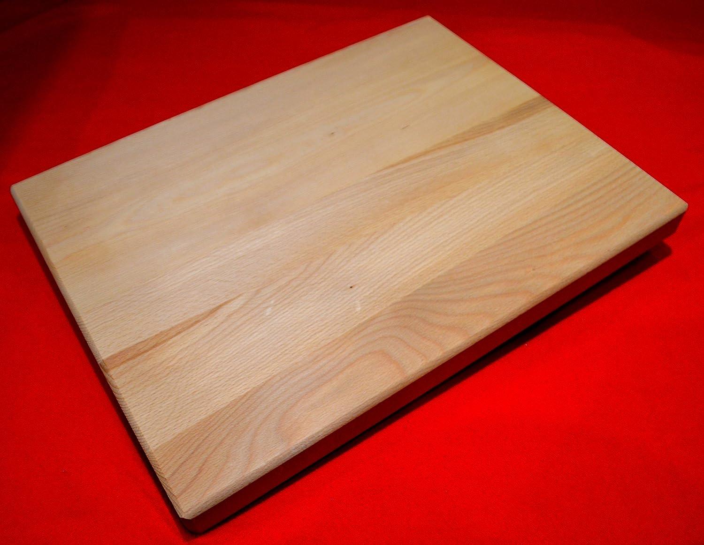 Chef Billot/ 39/x 52/x 4/cm /Tr/ès solide 39,4/x 52,1/x 3,8/cm /Big /à d/écouper en bois Planche /à d/écouper en bois de ch/êne/