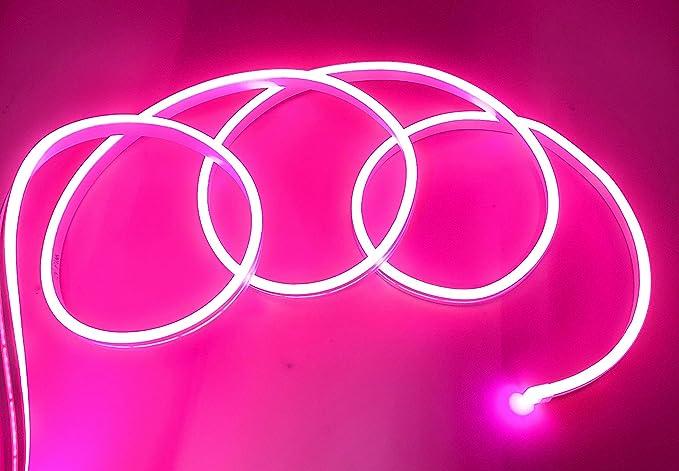 12 V 120 LED//m Tira LED de ne/ón flexible impermeable IP65 5 metros