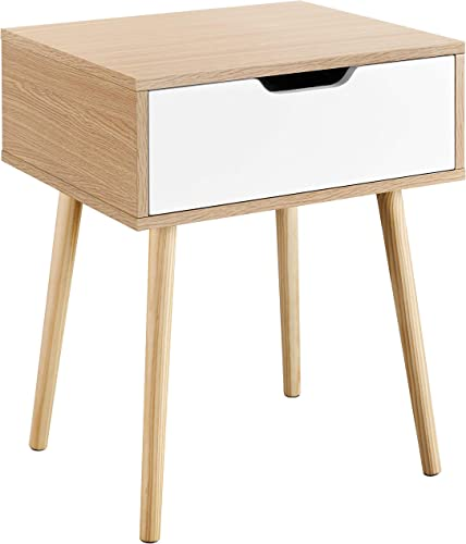 Reviewed: YAHEETECH Mid Century Sofa Side End Tables
