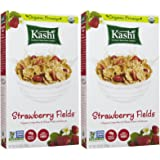 Kashi Organic Promise Cereal - Strawberry Fields - 10.3 Ounces - 2 Pack