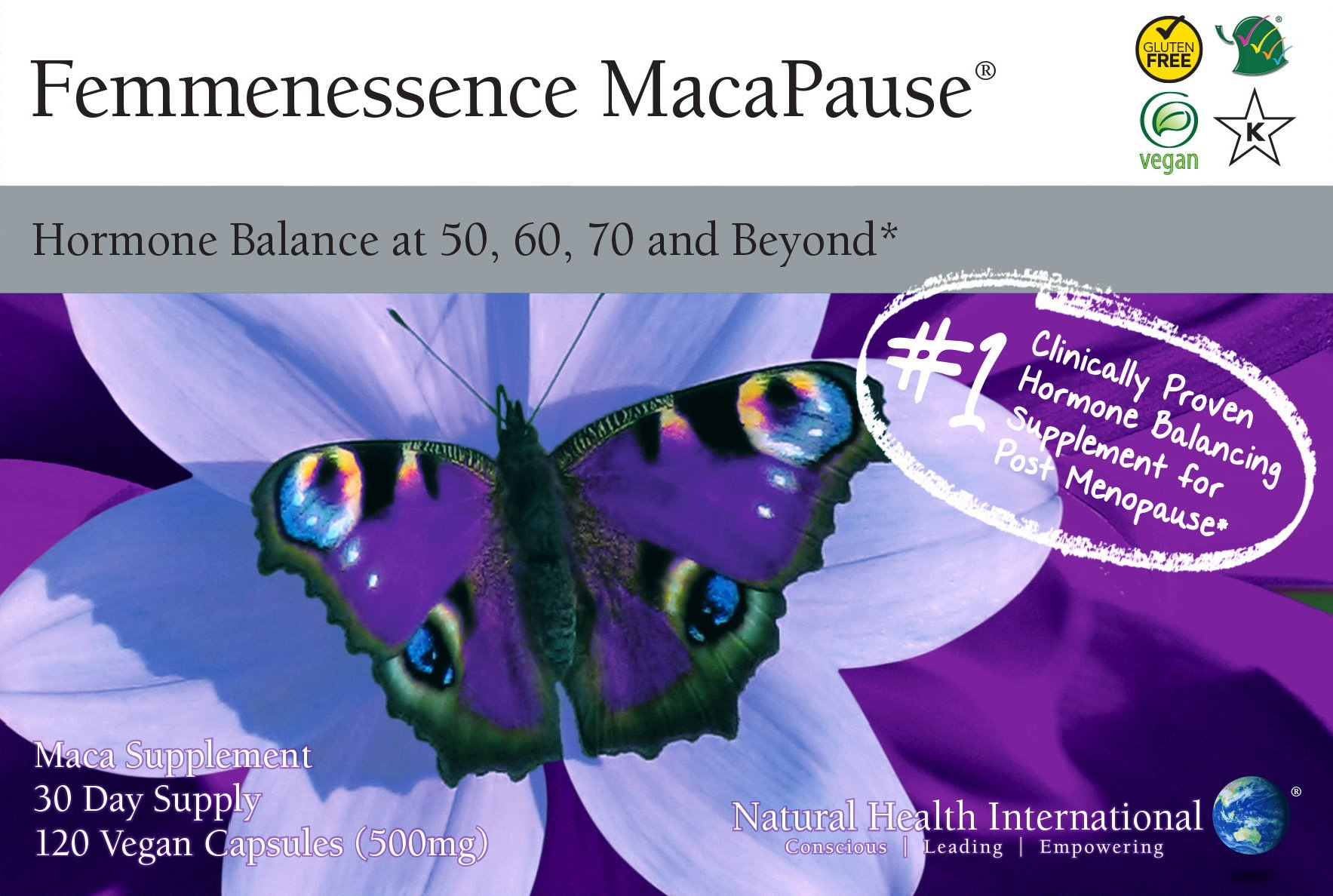 Femmenessence MacaPause - Hormone balance for women 50, 60, 70 and beyond