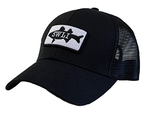 0888b7f2554 Saltwater Long Island Salty Trucker Hat at Amazon Men s Clothing store