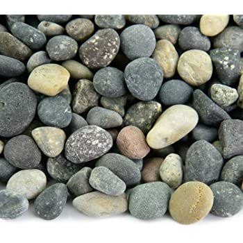 Amazon.com : Mexican Beach Pebbles | 20 Pounds of Smooth