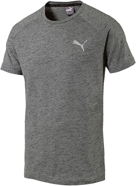 : Puma Mens Evostripe Tee Shirt Crew Neck (Medium