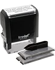 Trodat Economy Self-Inking Do It Yourself Message Stamp, Impression Size:3/4 X 1-7/8-Inch, Black-5915