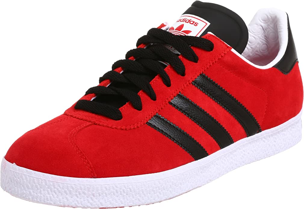 Amazon.com | adidas Originals Men's Gazelle 2 Soccer Shoe, Red ...