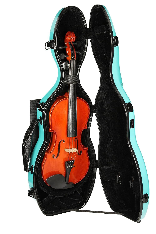Estuche para violín Fibra de vidrio Ultra Light 4/4 turquesa M-Case