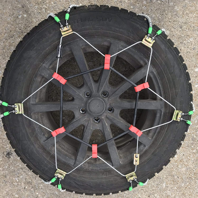 TireChain.com 295//40-20 Diagonal Tire Chains Set of 2 735SF-62
