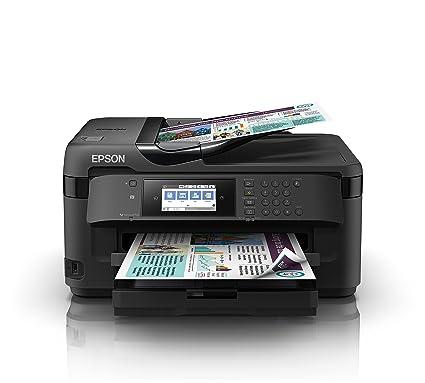 Epson Workforce WF-7710DWF Inyección 32ppm WiFi - Impresora multifunción (Inyección de Tinta, Impresión a Color, 4800 x 2400 dpi, 250 Hojas, A3, ...