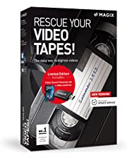 Rescue your Videotapes! - Version 9 - Digitizing Video Cassettes Made Easy (PC)