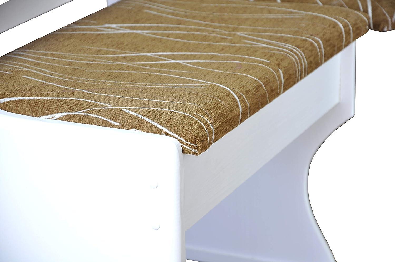 Magnetic Mobel Banquette Bois du pin Massif Nature 140x160 cm