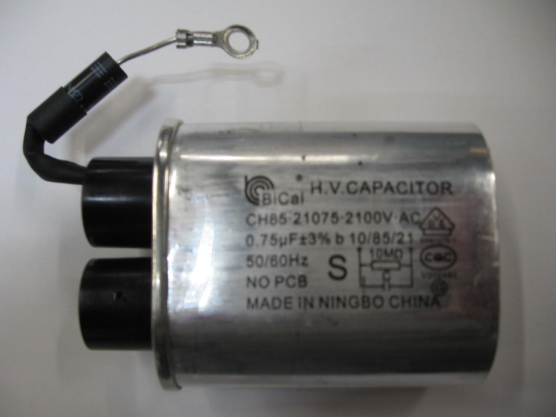 bicai 0,75 IU H.V. CH85 – 21075 – 2100 V-AC condensador con diodo ...