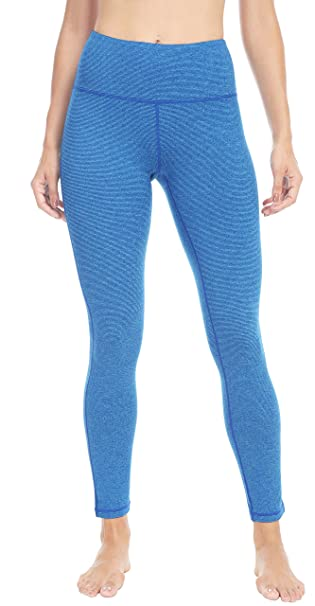 ff9d3e5772efc7 Queenie Ke Women Power Stretch Plus Size Yoga Leggings Pants Running Tights  Size XS Color Blue