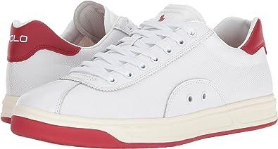 d66be2cc6c285 Polo Ralph Lauren Men s Court 100 White Ralph Lauren 2000 Red 7.5 M ...