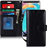 FYY Case for Samsung Galaxy Note 9, [Kickstand Feature] Luxury PU Leather Wallet Phone Case Flip Protective Cover with [Card