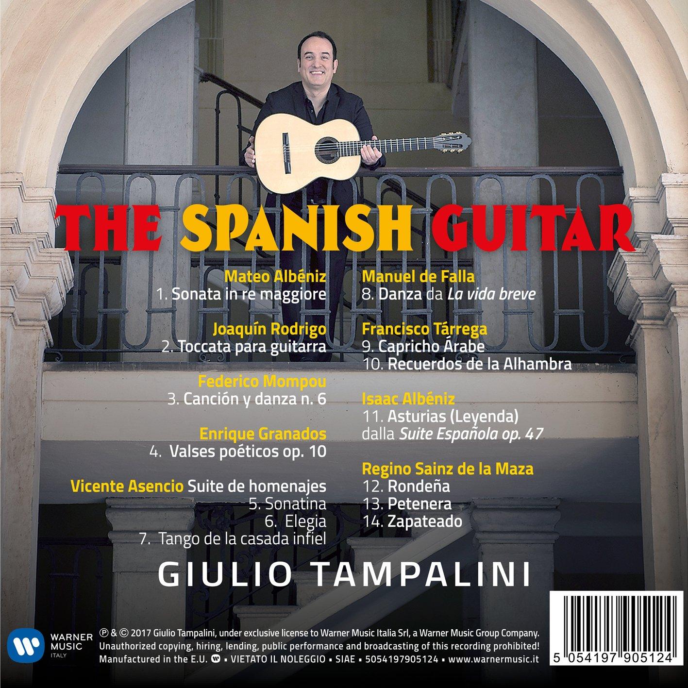 The Spanish Guitar: Giulio Tampalini: Amazon.es: Música