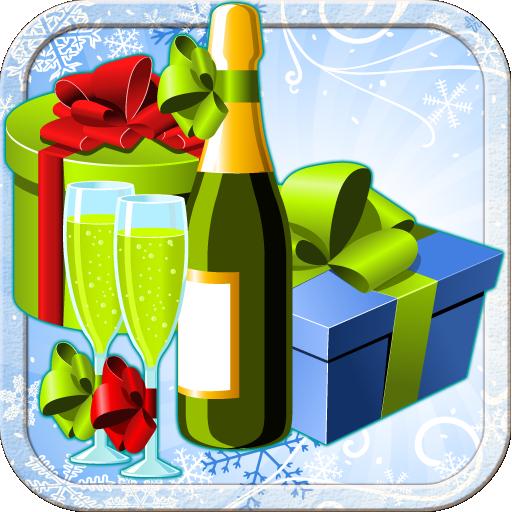 Champagne Bubbly Vase -