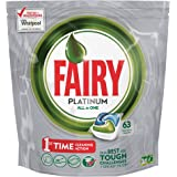 Fairy Platinum All in One Dishwashing Tablets, 189 Count - Pack of 3