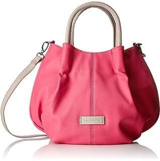 Tylor Handbag 1437161 Damen Henkeltaschen 29x24x15 cm (B x H x T), Pink (Pink 510) Tamaris