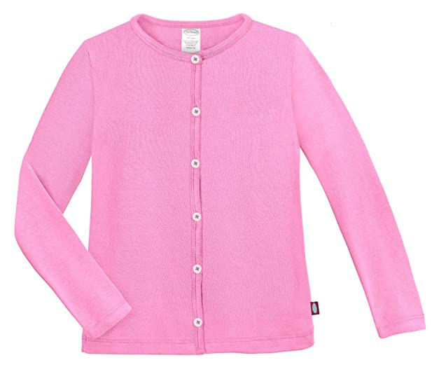 Amazon.com: City Threads Girls Cardigan Button Down Sweater Cotton ...