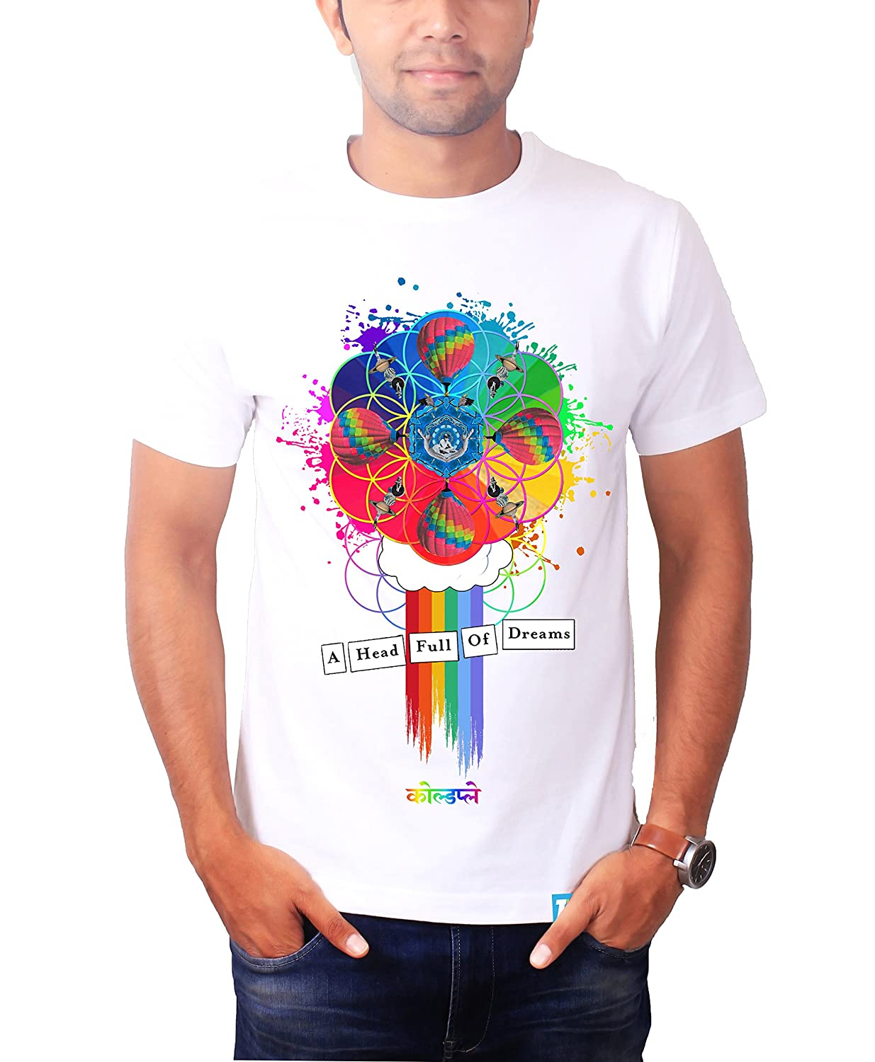 a20c807d4 The Banyan Tee Head Full of Dreams Coldplay Shirt – Coldplay Merchandise by  TBT: Amazon.in: Clothing & Accessories