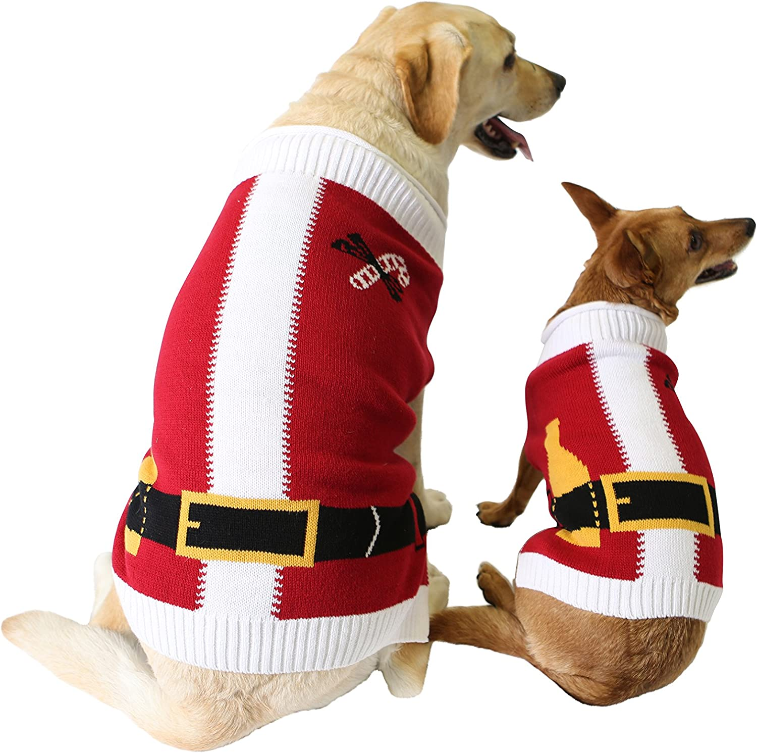 Ugly Christmas Sweater Santa Suit Dog Sweater