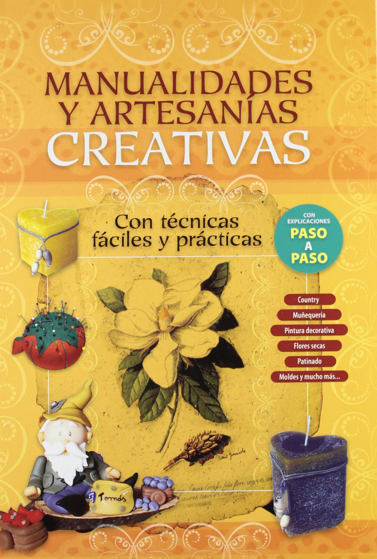 e901a61a2d06d MANUALIDADES Y ARTESANIAS CREATIVAS  Equipo Editorial  9789974679467 ...