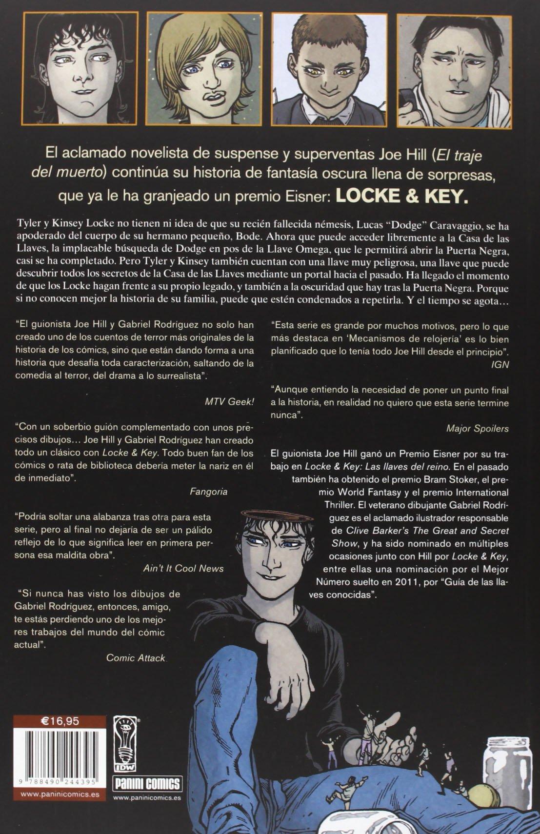 Locke & Key 5. Mecanismos De Relojería 100% Cult Comics ...