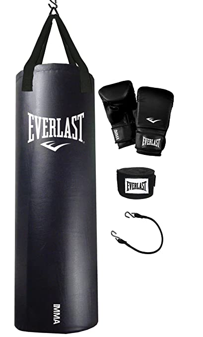 46a15f1dc29 Image Unavailable. Image not available for. Color  Everlast 70-Pound MMA Heavy  Bag Kit