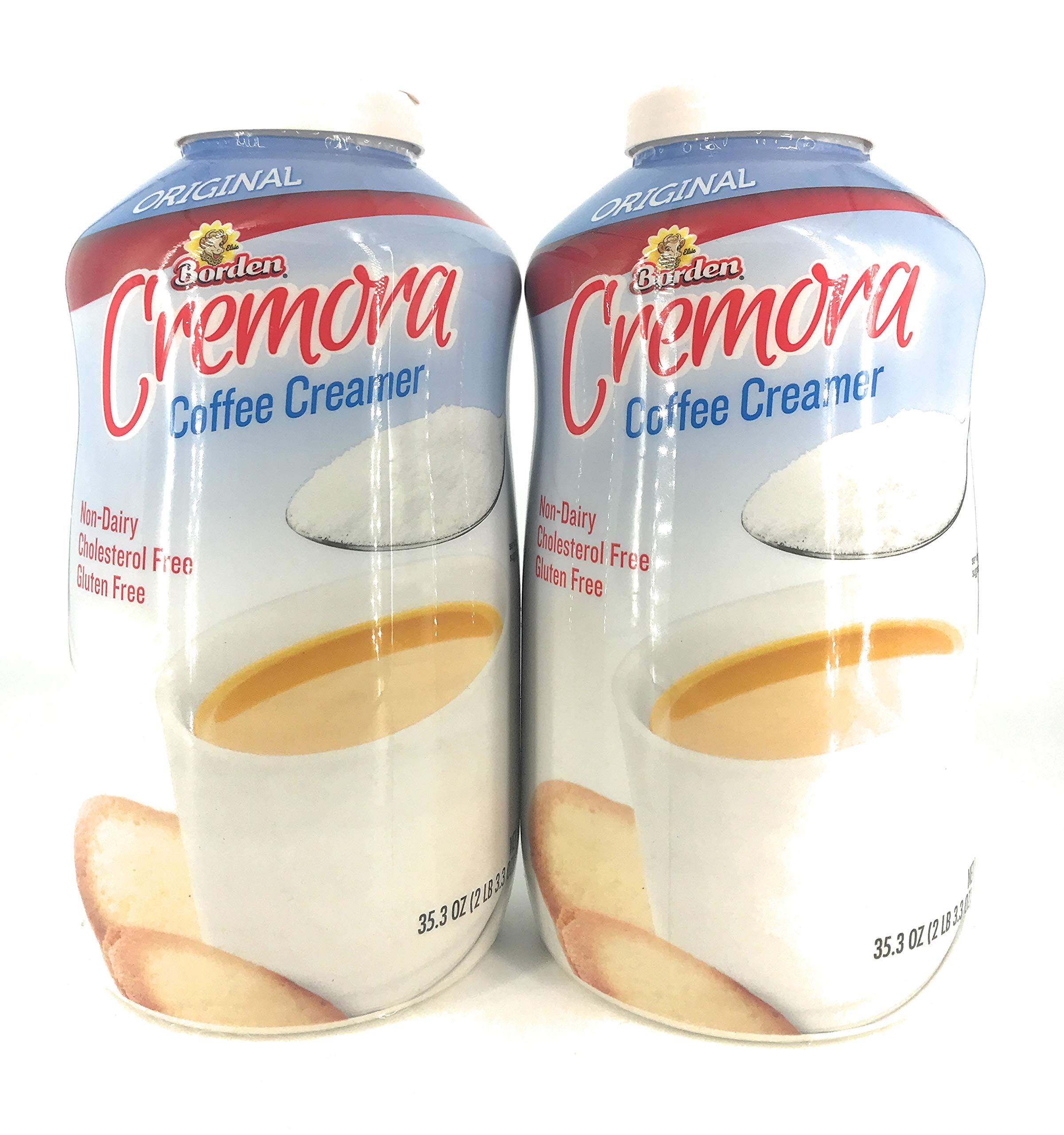 Borden Original Cremora Coffee Creamer, 35.3 oz (Pack of 2) by Borden