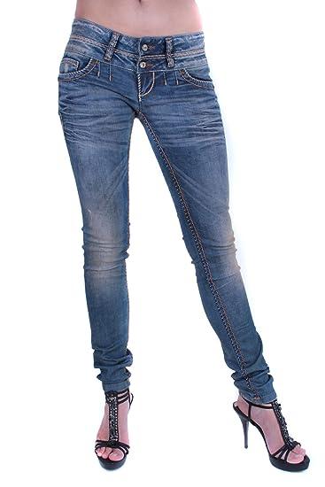 9756c5c2844508 CIPO & BAXX Damen Jeans CBW-347: Amazon.de: Bekleidung