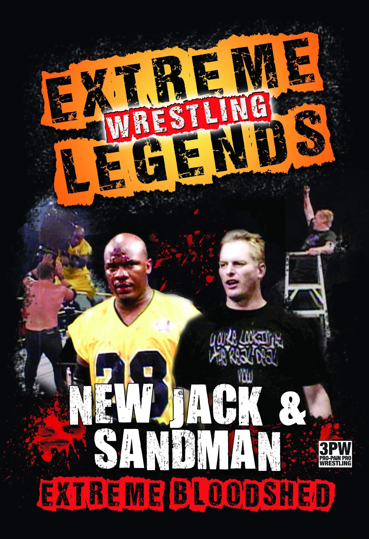 DVD : Extreme Wrestling Legends: New Jack & Sandman (DVD)