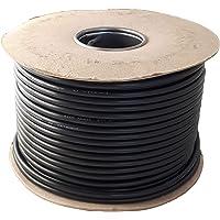 Cable flexible redondo negro de 2 y 3 núcleos de 0,75 mm, 1,0 mm, 1,5 mm 3182Y 3183Y rollo completo y longitudes…
