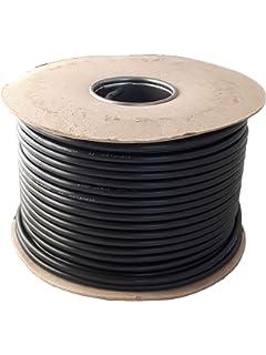 Electraline 10961 Cable para Extensiones H05VVH2-F 10 m Blanco Secci/ón 2x1 mm