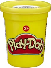 Play Doh Latas, color Amarillo
