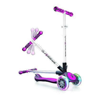 Globber Elite Light Wheels Trottinette 3 Roues Enfant