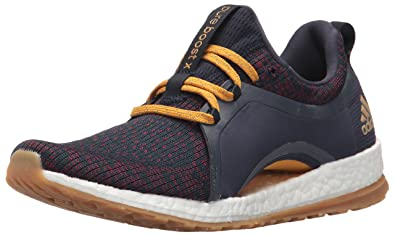 more photos 5fc36 76930 adidas Women s Pureboost X ATR Running Shoe, Legend Ink RED Night Tactile  Yellow