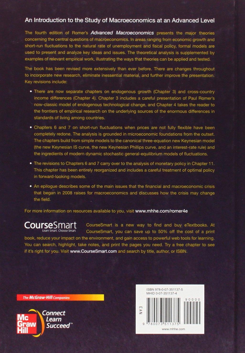 Buy advanced macroeconomics the mcgraw hill series in economics buy advanced macroeconomics the mcgraw hill series in economics book online at low prices in india advanced macroeconomics the mcgraw hill series in fandeluxe Images