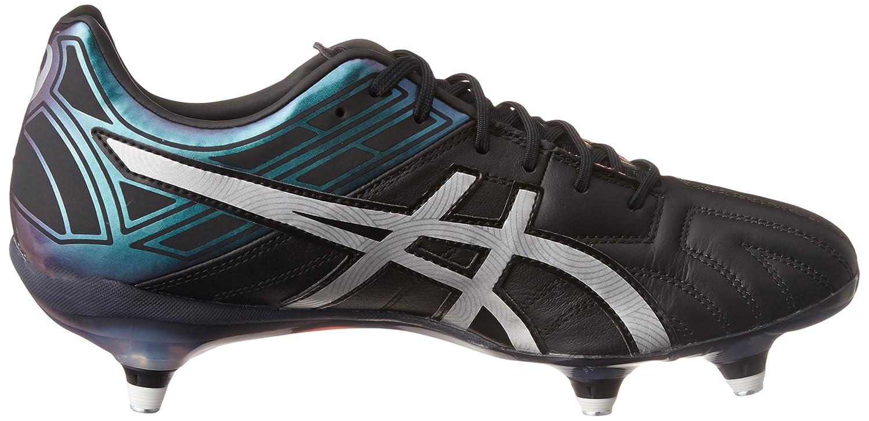 f596b7faa Gel-Lethal Tigreor 10 ST Rugby Boots - Black Silver  Amazon.es  Deportes y  aire libre