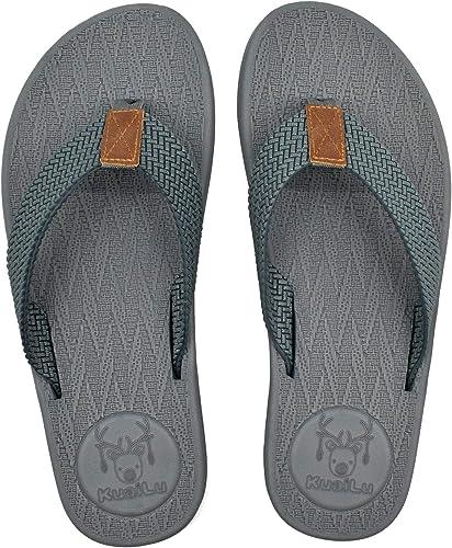 Badelatschen Herren Beach Sandale Zehentrenner Schuhe Strand Badeschuhe  41-46