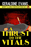 A Thrust to the Vitals (Rafferty & Llewellyn Book 10)