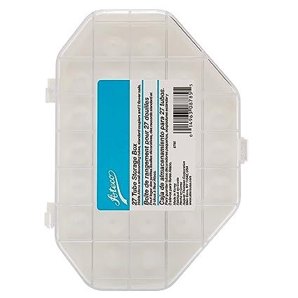 Ateco 8785 Tube Storage Box, 27-Compartments for Small & Medium Decorating Tubes