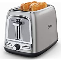 Oster 2-Slice Toaster with Advanced Toast Technology, Stainless Steel