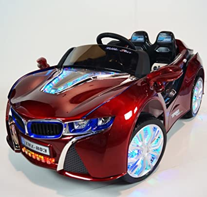 Amazon Com Electric Battery Operated Ride On Car For Kids Bmw I8