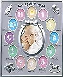 LADONNA 12个月大的宝宝相框